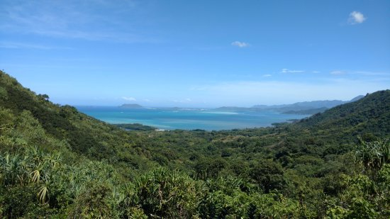 Kaneohe, HI: view from the top of Jungle Expedition
