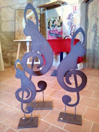Turquant, France: Boutique des métiers d'art