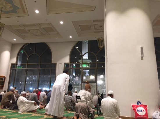 Makkah Hilton Hotel: Prayer Area