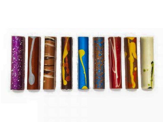 Newtown, CT: Hand Painted Artisan Fudge Sticks