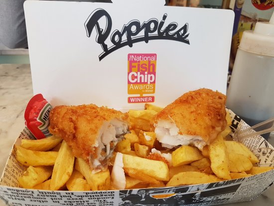 Le fameux fish chips copieux et d licieux picture of for Eds fish and chips