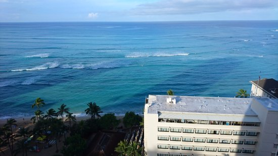 Hyatt Regency Waikiki Beach Resort Spa View From Our Oceanfront Balcony 21st Floor