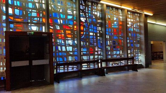 Trois-Epis, França: vitrail de la grande église