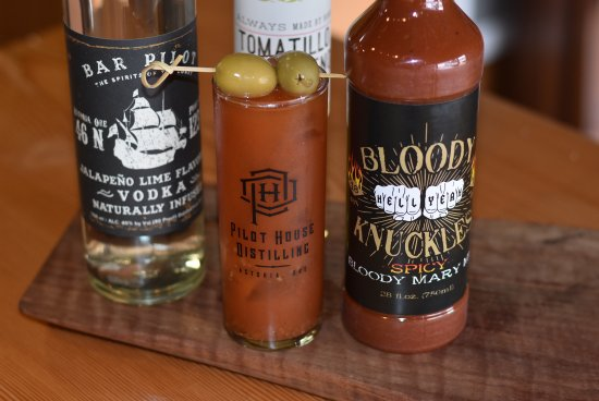 Astoria, Орегон: Bloody Knuckles Bloody Mary Mix