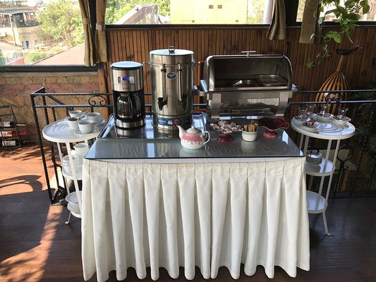 Coffee And Tea Station Hot Plate