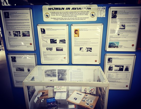 Caloundra, أستراليا: Women in Aviation display