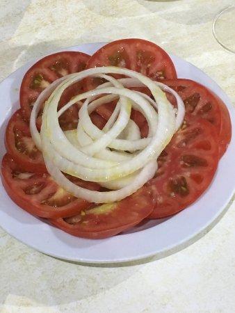 Restaurante El Cine : Simple salad
