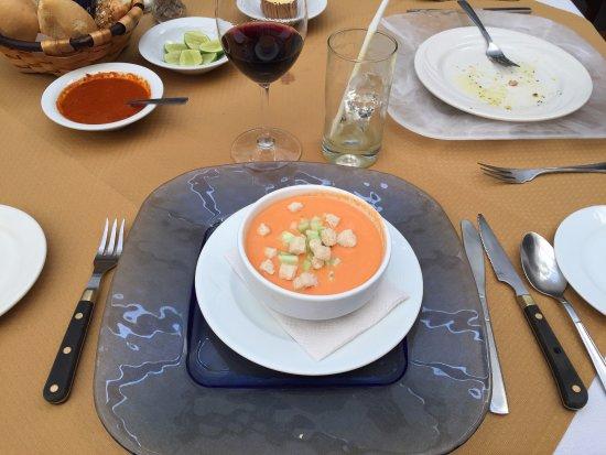 Restaurante Mesón Puerto Chico: Gazpacho