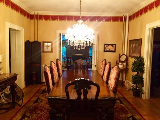Annville, PA: the formal dining room, adjacent to the breakfast area