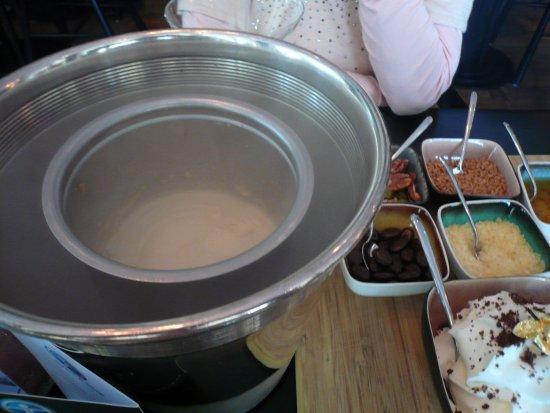 Voorburg, Países Bajos: デザートのアイス
