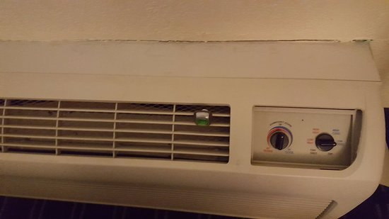 Waynesboro, VA: Air freshener on the air conditioner in Room 150