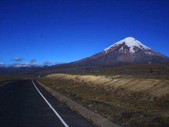 Province de Chimborazo, Équateur : El majestuoso nevado del Chimborazo - Ecuador
