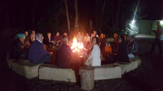 Mudjimba, Australia: Post Xperience Fire pit..