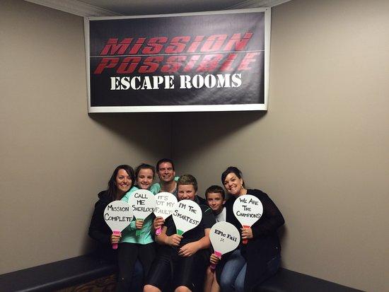 Mission Possible Escape Room Burlington