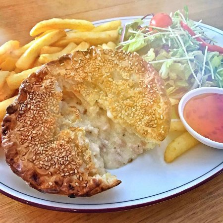 Daintree, Australia: Our pie are famous! You really must try our crocodile pie!