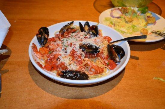 Linguine Di Mare Picture Of Olive Garden Oxford Tripadvisor