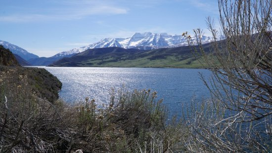 Heber City, UT: Nice view right from the road