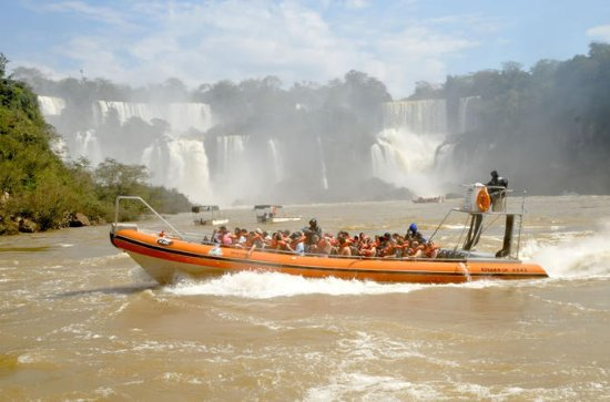 Argentinean Falls Tour With Boat Ride...
