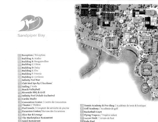 Порт-Сент-Люси, Флорида: Resort map