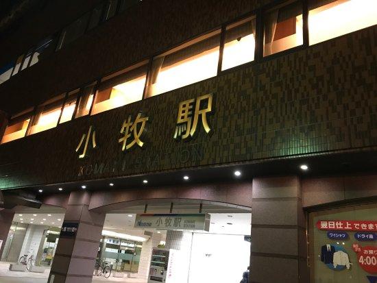Meitetsu Komaki Hotel : 位於小牧車站樓上