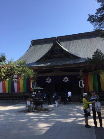 Chuson-ji Temple: 中尊寺の本坊です。