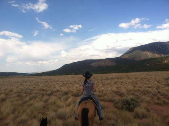 Cedar City, UT: View from the half-day ride