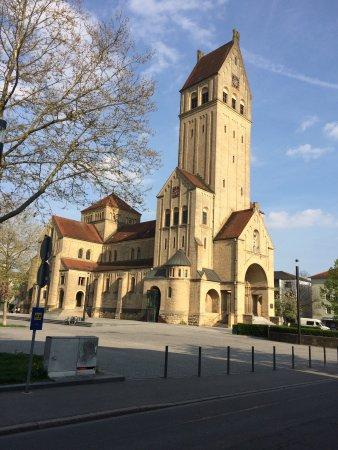 Singen, Tyskland:  Herz-Jesu-Kirche