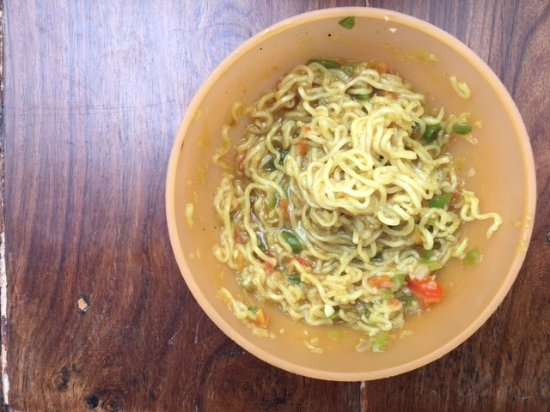 Tip Top Tea Shop: The delicious Veg Maggi