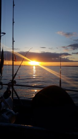 Westport Charters: Starting the day with beautiful  sunrise
