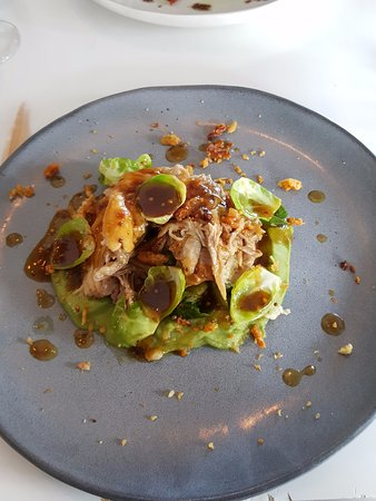Willoughby, Australia: Slow cooked pork shoulder - delicious
