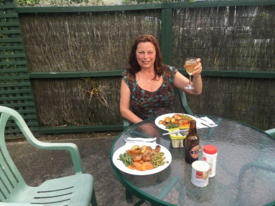 Rangiora, Nuova Zelanda: Alfresco Dining anyone