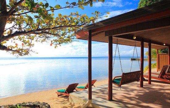 Toberua Island, Fiji: Tranquil Beachfront living