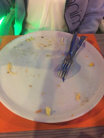 Restaurante Brisas Palmanova: Clean plates all around from our party