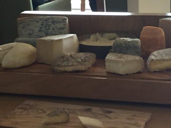 Poio, Spanien: Tabla de quesos