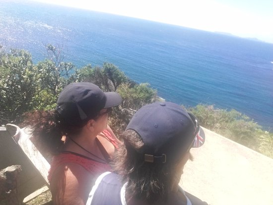 Tutukaka, New Zealand: Look out at Whale bay