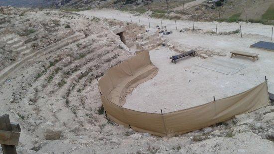 Herodium: theater at Herodion