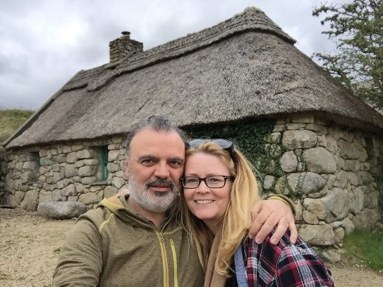 Cnoc Suain : In front of our lovely cottage