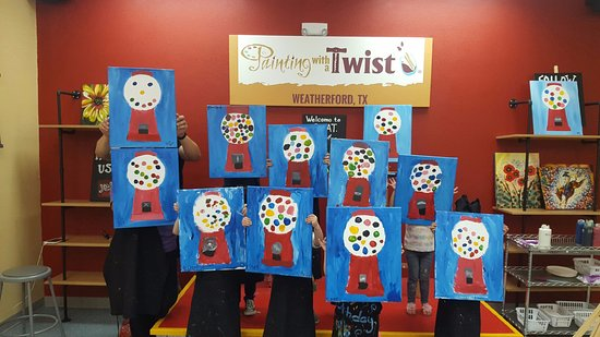 Painting with a Twist - Weatherford