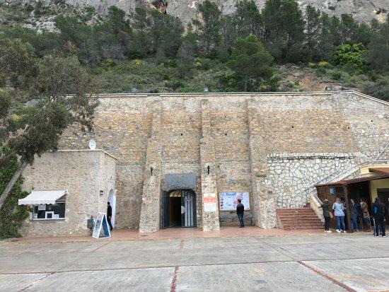 Busot, Spain: Main entrance