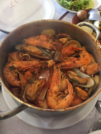 Boaventura, Португалия: Seafood and fish caldeira