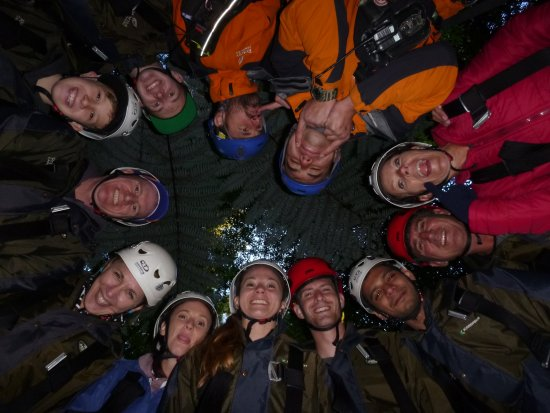 Rotorua Canopy Tours: Great crew and other guests on the day