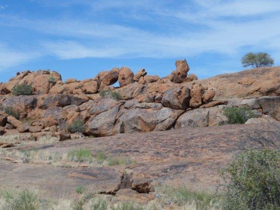 Augrabies Falls National Park, Sydafrika: Stacked Rocks