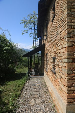 Tiger Mountain Pokhara Lodge: Room 11 plus terrrace and views