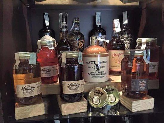 Borgo a Buggiano, Italia: Ampia selezione di Whisky