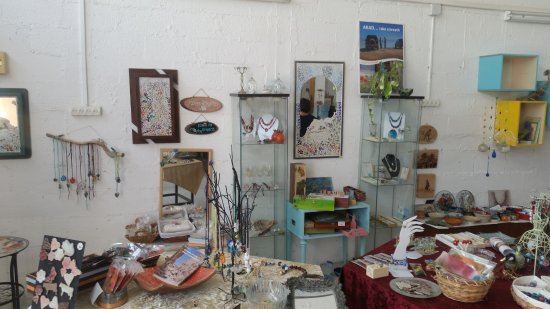 Arad, İsrail: Glass Art shop