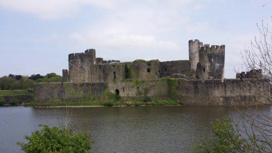 El castillo de Caerphilly