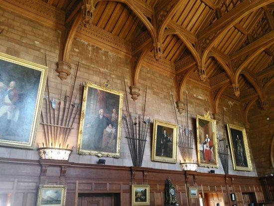 Wonderful Bamburgh Castle   Interior