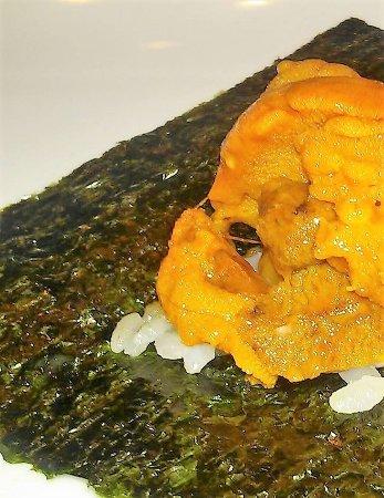 Teppanyaki Ten: ウニ焼き