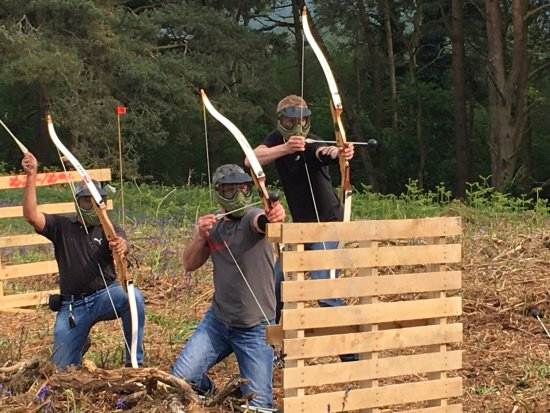 Insight Activities: Archery Tag New Forest
