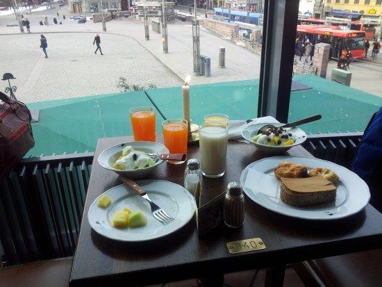 Scandic Byporten: Breakfast